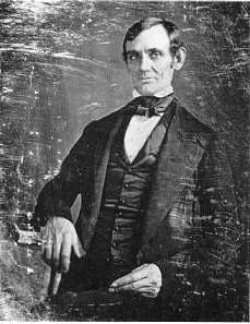 Image of a young Abraham Lincoln.