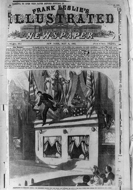 assassination of president lincoln essay The assassination of president lincoln april 14, 1865 shortly after 10 pm on  april 14, 1865, actor john wilkes booth entered the presidential box at ford's.