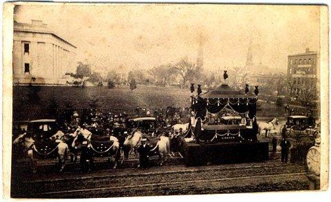 abraham lincoln funeral procession. mr lincolnu0027s funeral procession in columbus abraham lincoln assassination