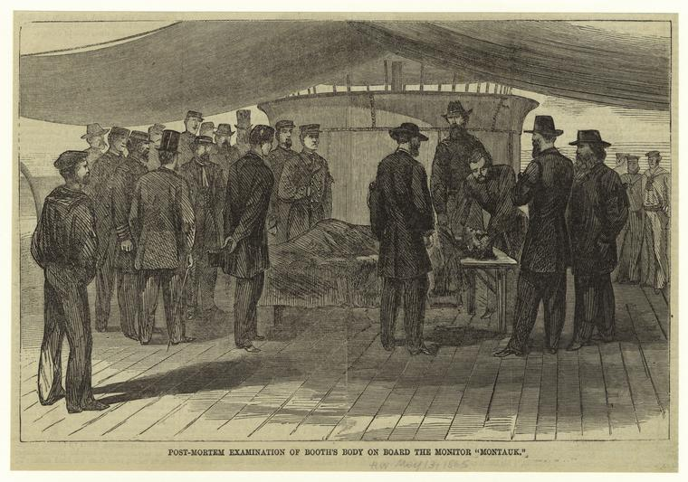 John Wilkes Booth S Autopsy