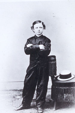 1865 Photograph Of Tad Lincoln Taken By Mathew B Brady